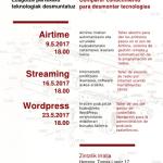 Ezagutza partekatu teknologiak desmuntatuz (2017)